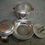 アルミ製のベトナムコーヒーフィルター