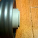 ハリオ セラミック・コーヒーミル・スケルトン MSC-2TB の歯の部分